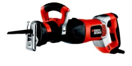 Black Decker RS1050EK Säbelsaege 262x131 - Black + Decker RS1050EK Säbelsäge
