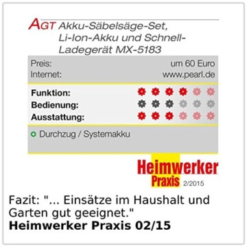 AGT Säbelsäge-Set AW-18.sl
