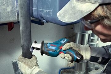Bosch Professional GSA 10,8 V-Li Akku-Säbelsäge SET